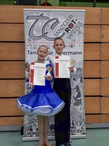 Amadee und Sophia Gewinnen in Kaiserslautern